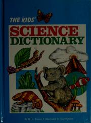Cover of: The kids' science dictionary