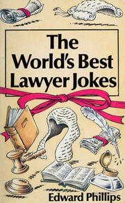 Cover of: World's Best Lawyer Jokes | Edward Phillips
