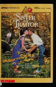 Cover of: My sister, the traitor