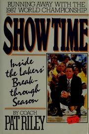 Cover of: Show time | Pat Riley
