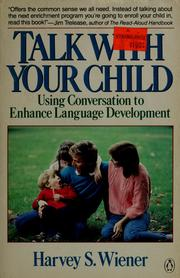 Cover of: Talk with your child