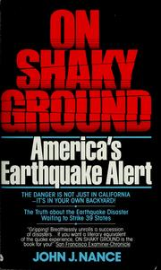 Cover of: On Shaky Ground: America's Earthquake Alert