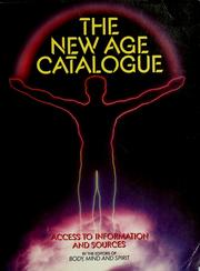 Cover of: The New Age Catalogue | Psychic Guide Magazine