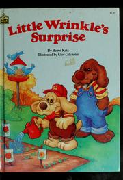 Cover of: Little Wrinkle's surprise