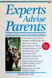 Cover of: Experts advise parents |