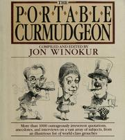 Cover of: The Portable Curmudgeon |