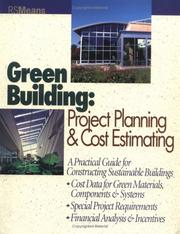 Cover of: Green building |