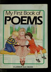 Cover of: My first book of poems