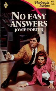 Cover of: No Easy Answers
