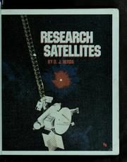 Cover of: Research satellites