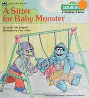 Cover of: A sitter for baby monster | Emily Perl Kingsley