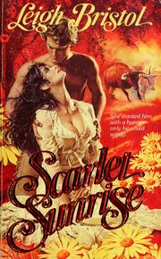 Cover of: Scarlet Sunrise | Leigh Bristol