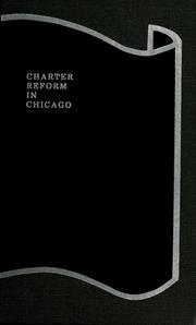 Cover of: Charter reform in Chicago
