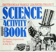 Cover of: Science Activity Book