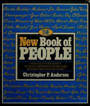 Cover of: The new book of people | Christopher P. Andersen