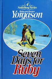 Cover of: Seven days for Ruby