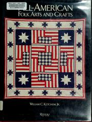 Cover of: All-American folk arts and crafts | Ketchum, William C.