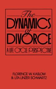 Cover of: The dynamics of divorce