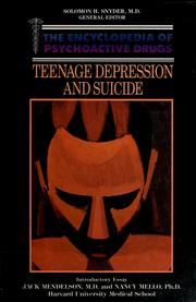 Teenage depression and suicide by John Chiles