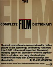 Cover of: The complete film dictionary | Ira Konigsberg