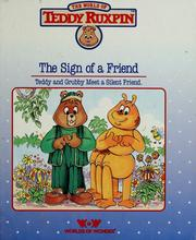 Cover of: The Sign of a Friend