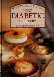 Cover of: New Diabetic Cookery