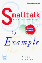 Cover of: Smalltalk by example