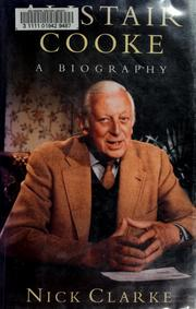 Cover of: Alistair Cooke | Clarke, Nick
