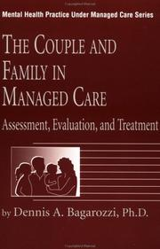 Cover of: The couple and family in managed care