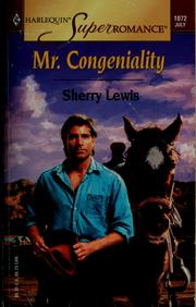 Cover of: Mr. Congeniality | Sherry Lewis
