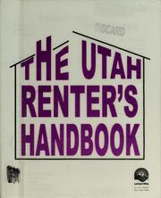 Cover of: Utah renter