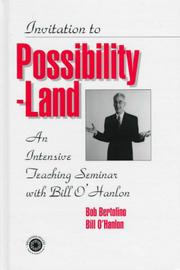 Cover of: Invitation To Possibility Land