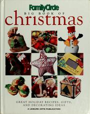 Cover of: Big book of Christmas | Leisure Arts, Inc