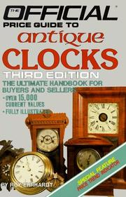 Cover of: Antique Clocks