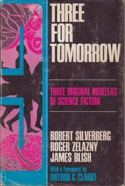Cover of: Three for Tomorrow