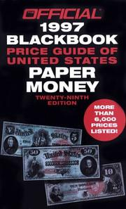 1997 Blackbook OPG of U.S. Paper Money, 29th Edition (29th)