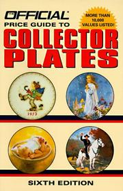 Cover of: Official Price Guide to Collector Plates