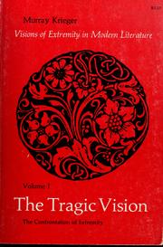 Cover of: The tragic vision by Krieger, Murray