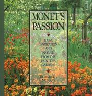 Cover of: Monet's passion