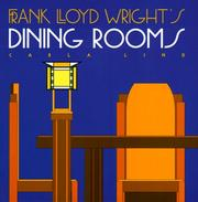 Cover of: Frank Lloyd Wright's dining rooms
