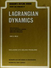 Schaum's outline of theory and problems of Lagrangian dynamics (1967