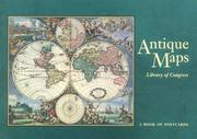 Cover of: Antique Maps | Pomegranate Publishers