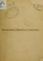 Cover of: Tour tendered by the government of the United States to the International American conference | Pennsylvania Railroad