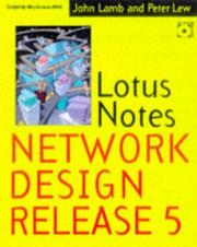 Cover of: Lotus Notes and Domino network design