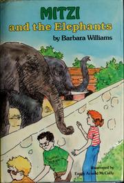 Cover of: Mitzi and the elephants | Barbara Williams