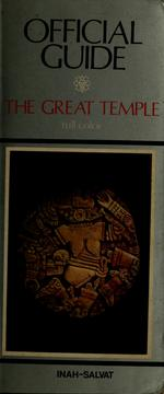 Cover of: The Great Temple
