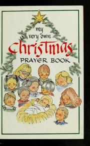 My very own Christmas prayer book