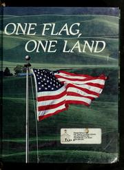 Cover of: One flag, one land