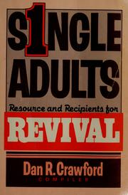 Cover of: Single Adults | Dan R. Crawford