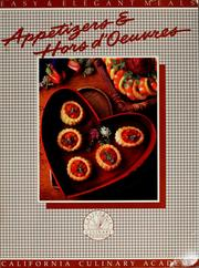 Cover of: Appetizers & hors d